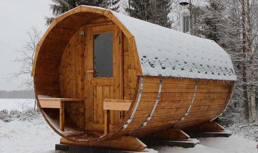 Pic Baltresto Barrel Sauna
