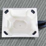 foto 3 vedeldad badtunna for 8 pers quattro i glasfiber