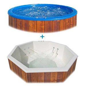 bild Bubbel och Vattenmassage system