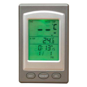 bild Trådlös digital pool termometer för bastutunna 2